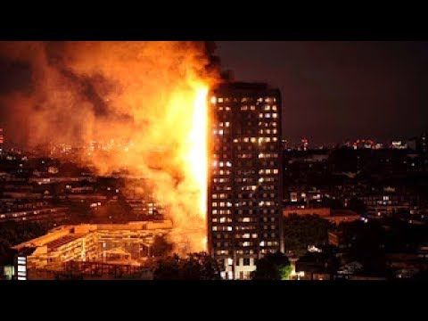 LONDON BUILDING FIRE: People Where Trapped, 150 died