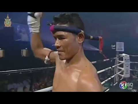Tengnueng Sitjesairoong (Thailand) VS Sok Touch (Cambodia), Thai Fight Proud To Be Thai 23/07/2016