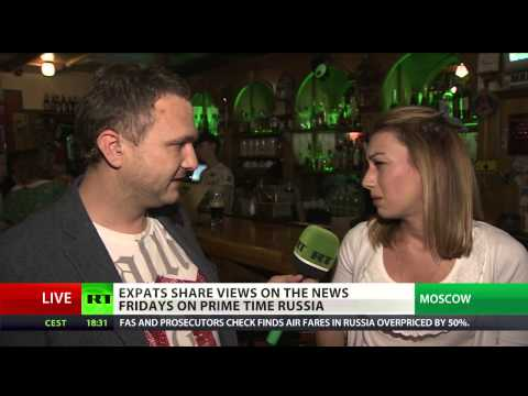Weekly events with expats in Moscow