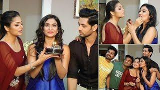 Aditi Sharma Birthday Celebration With Drashti Dhami & Shakti Arora On Sets Of Silsila Serial