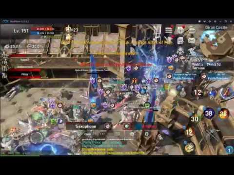 CASTLE SIEGE SERVER MAJAPAHIT PublicEnemies VS Chronospere + Legion + HellAngels (3 Clan Aliansi)
