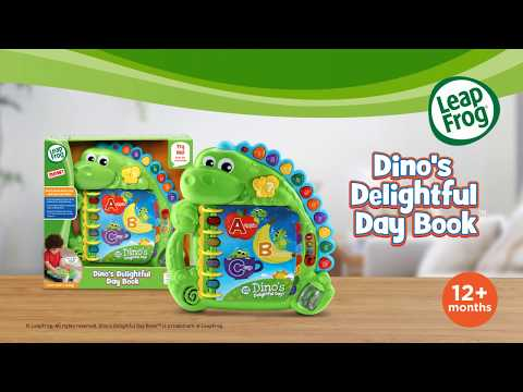 Dino's Delightful Day Book | Demo Video | LeapFrog