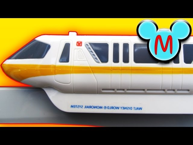 Disney Monorail Playset Review
