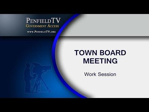 2016-07-13 PEN Town Brd Work Session