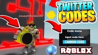 NEW CANNON WAR SIMULATOR + 3 SECRET CODES | Cannon war Roblox! CANNON CODE ROBLOX
