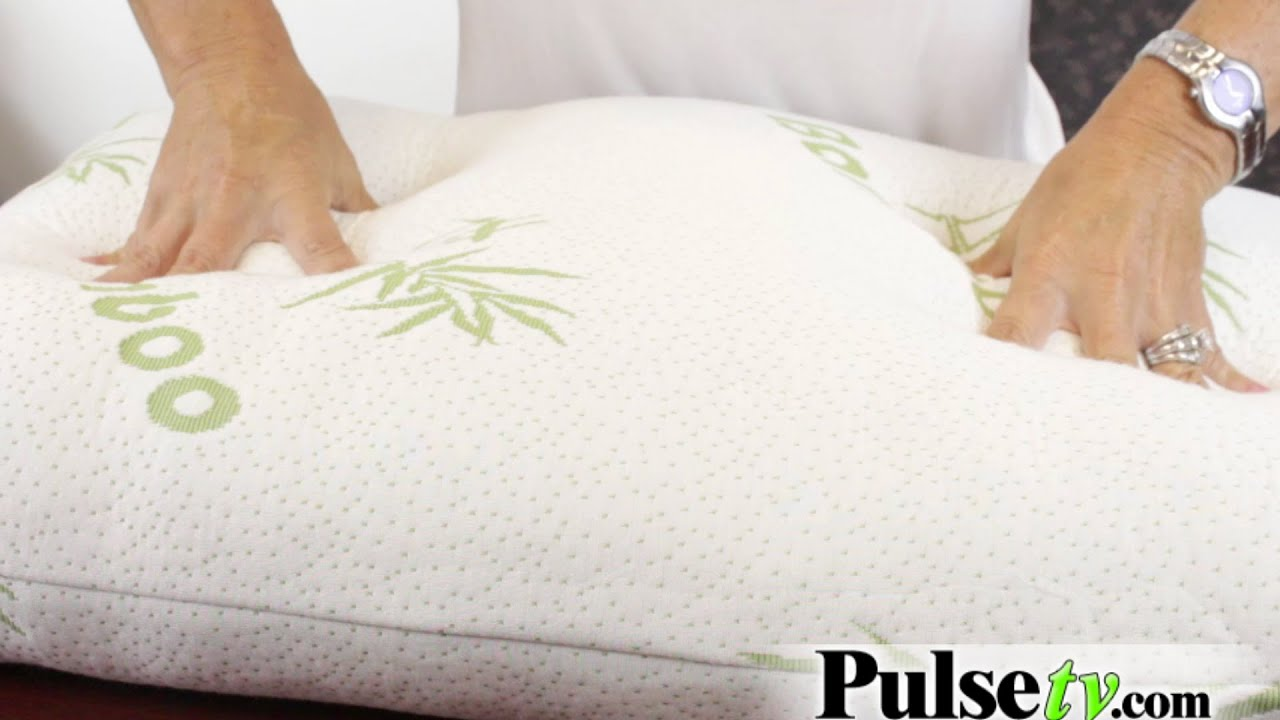 hypoallergenic foam pillow bamboo of memory adorable shredded