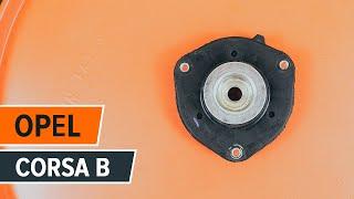 Montaż Podstawa amortyzatora tylne i przednie OPEL CORSA: instrukcje wideo