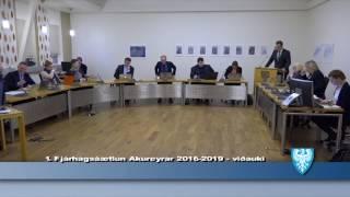 Fundur Bæjarstjórnar 13.desember 2016