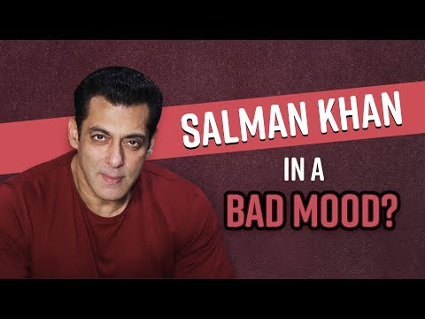 Bigg Boss 13 host Salman gives us a glimpse of his sour mood and we are tad bit disappointed
