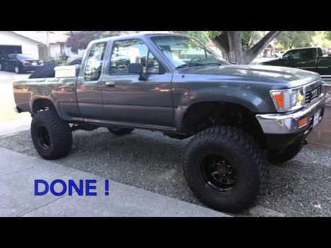 1993 toyota 4 wheel drive truck