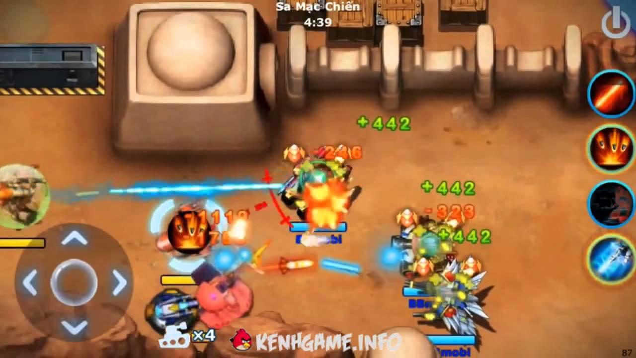 Tải Game BangBang Mobile   BangBang Bắn Súng Tank Molbile Zing