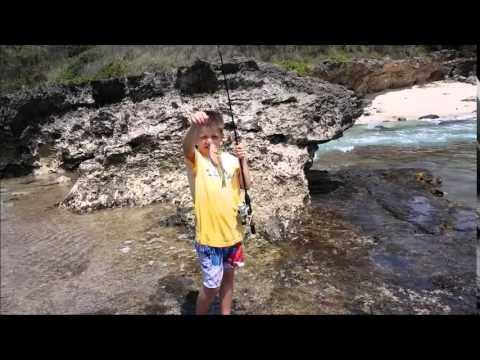 Oahu Shore Fishing  April 2015