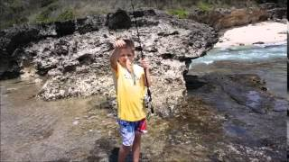 Shore fishing in oahu for Shore fishing oahu