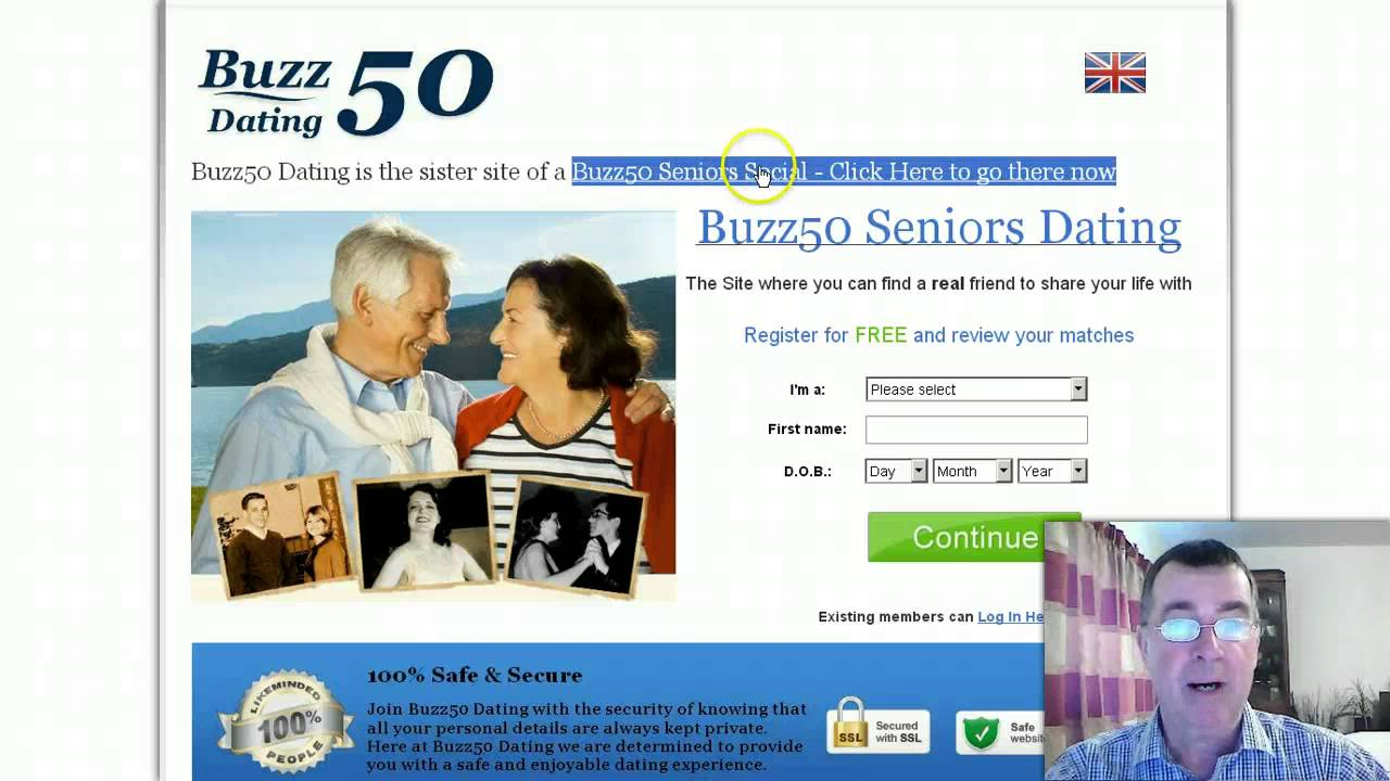 Senior Dating for over 50s