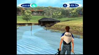 Sega Bass Fishing 2 Gameplay - Beaver Docks - Sega Dreamcast