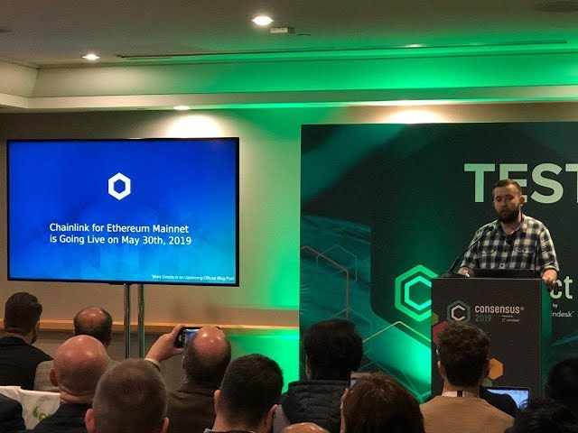 Chainlink for Ethereum Mainnet Announcement at Consensus 2019