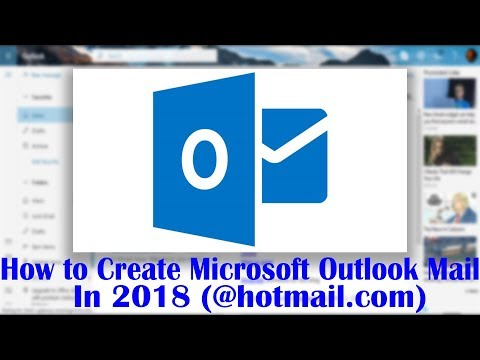 How to create an email account on outlook