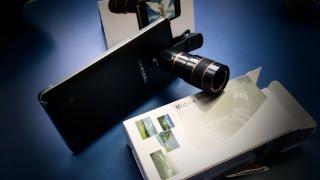Объектив-телескоп для мобильного телефона прикольная шпионская фигня. Посылка в 4k с Banggood(Купить можно тут - http://goo.gl/57vNFv Сегодня у нас на обзоре тесте распаковке небольшой но прикольный гаджет из..., 2016-03-01T16:00:01.000Z)