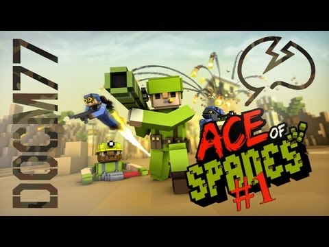 Ace Of Spades with Mindcrack #1 - Demolition Lunar Base