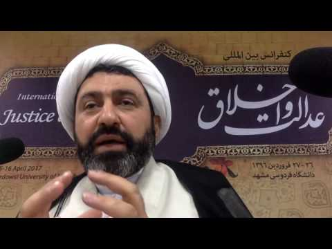 Divine Justice and Its Reflection in Social Justice in Shia Thought, Dr Shomali, 16th April 2017