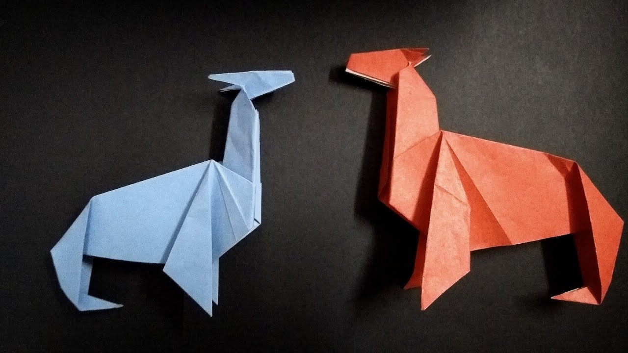 How to make an origami alpaca | alpaca origami | alpaca making