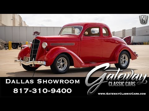 1935 Plymouth Coupe 5 Window - Gateway Classic Cars of Dallas #1064