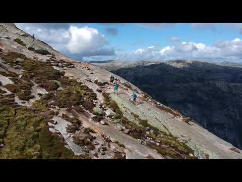 Climbing up to the Kjeragbolten - Skandinavian Roadtour - DJI Spark Dronevideo