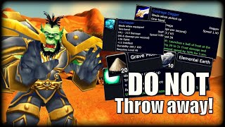 10 Items In Classic WoW You Should Hold On To