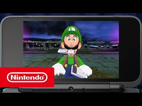 Luigi's Mansion - De niet zo enge trailer (Nintendo 3DS)