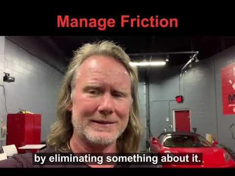 Manage Friction