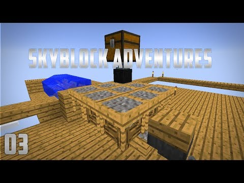 Skyblock Adventures EP3 Ex Nihilo Auto Sieve + Mob Farm