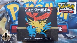 Opening of an elite SL11.5 occult trainer box, pokemon cards!