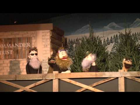 Three Wise Men Puppet Parody  - Pleasant View Puppets