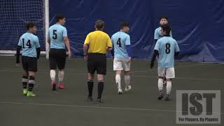 CRACKING GOALS, RED CARD PLAYER EJECTED & BIG CONTROVERSY - REF VS PLAYERS!!!