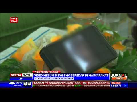 Beredar Video Mesum Siswi SMK Lubuk Linggau