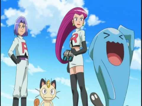 pokemon the series xy english team rocket with wobbuffet