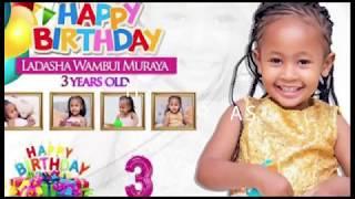 LADASHA'S 3RD BIRTHDAY PARTY🎉🎉🎉🎉