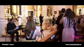 Canon en re de Pachelbel - piano y violin San Lorenzo Murcia Bodas Wedding Bodas almeria