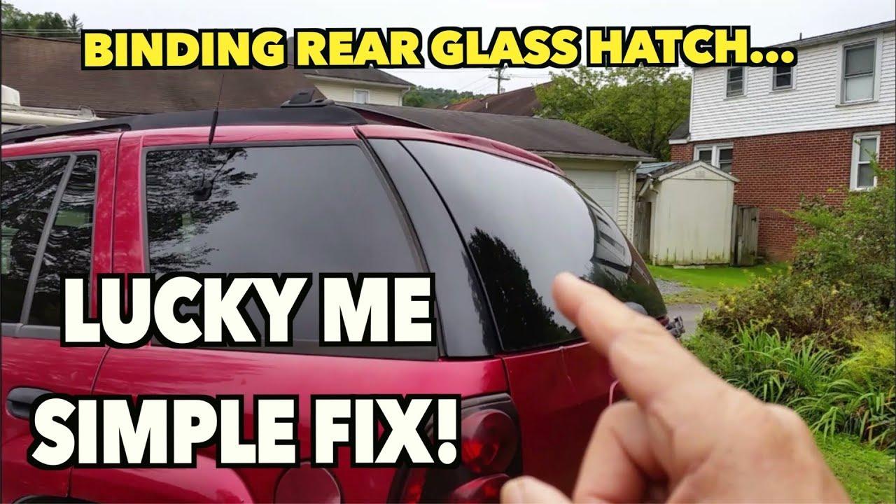 Rear Hatch Gl Stuck Won T Open Not Always What You Think Fixed Trailblazer 02
