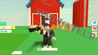 A first simulator on Roblox