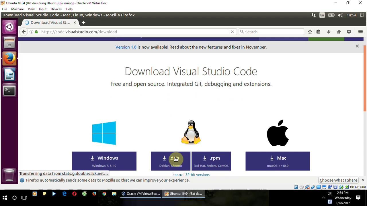 How to debug Python with Visual Studio Code on Ubuntu 16 04