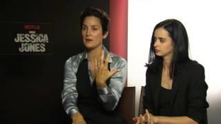 Intervista a Carrie Anne Moss e Krysten Ritter (Jessica Jones)