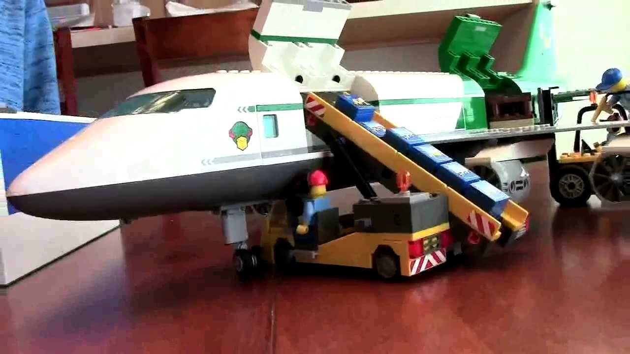 LEGO Cargo Plane 60022 & Equipment | Brick Bunch USA - YouTube