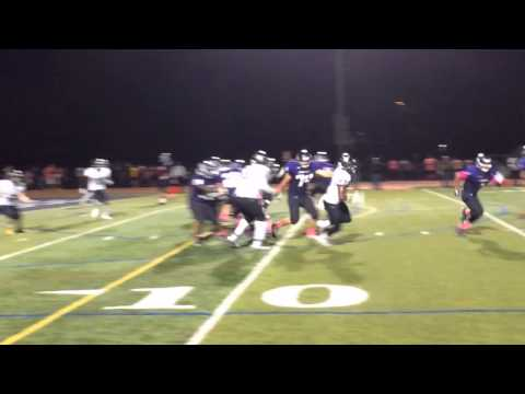 Football: Dillon Donaldson of South Brunswick recovers fumble vs. Old Bridge