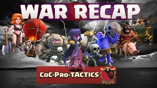 Clash of Clans | War Recap #14 CoC Pro TACTICS vs Indo Bhirawa| Deutsch | German | Teil 1