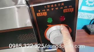 Bếp chiên tách dầu dùng điện 10 lít kiểu mới 2020