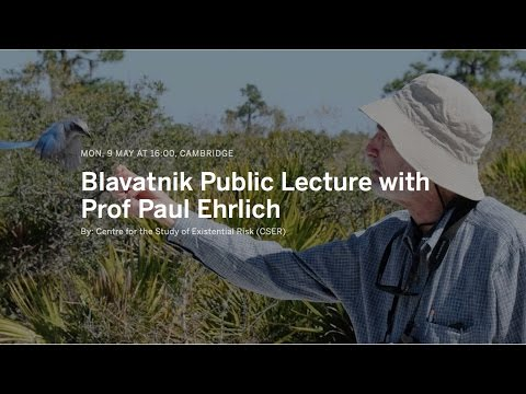 Blavatnik Public Lecture with Prof. Paul Ehrlich