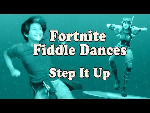 Fortnite Dance Fiddle Lesson - Step It Up