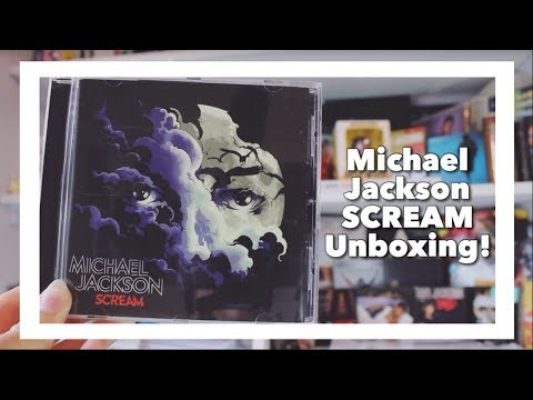 Michael Jackson 'Scream' Album Unboxing!