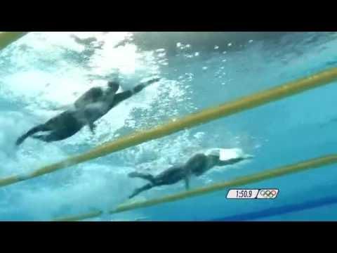 2008 Beijing Olympics Swimming Men's 4 x 100m Freestyle Relay